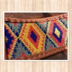 Accessories - Boho High Waist Brown Belt